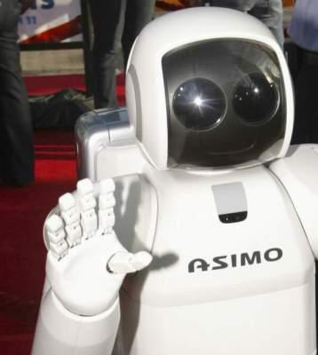Asimo, el robot.......casi humano