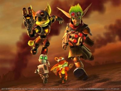 """JAK ""y ""RATCHET AND CLANK"" ¿ mejores juegos?"